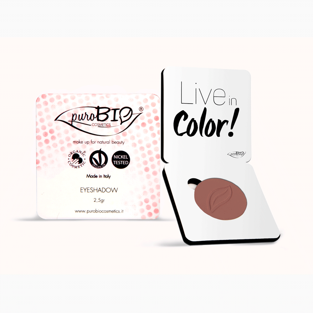 Eye Shadow/Blush PuroBIO n.13 - Marsala