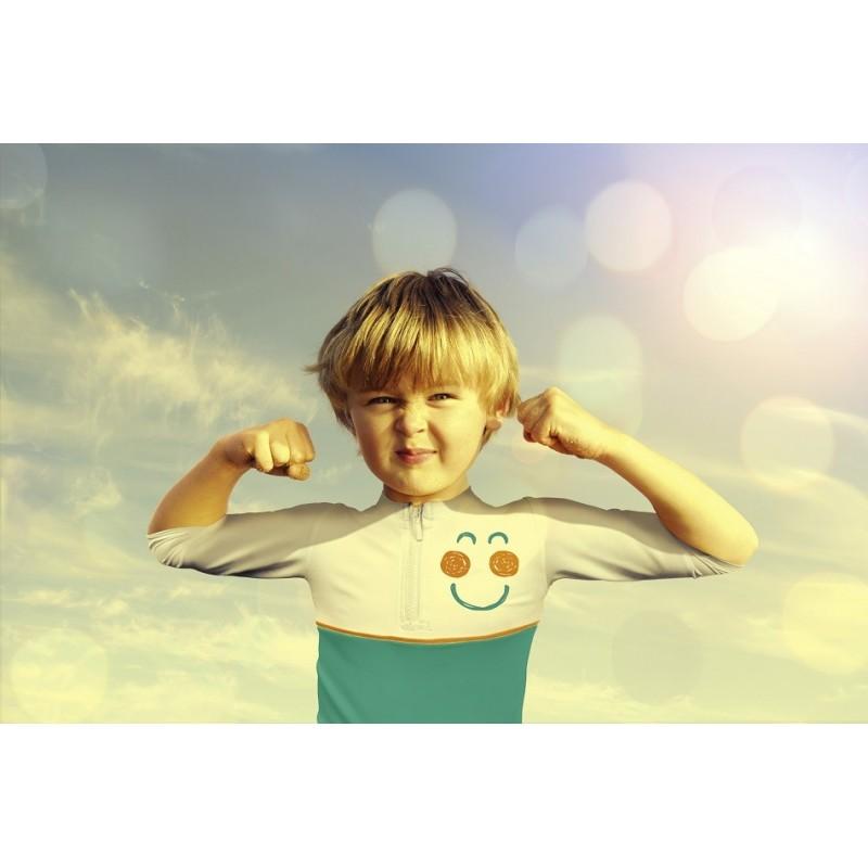 SPF 50+ Krem solar per femije 50 ml + BLUZE kunder rrezeve UV Alga Maris (18-36 muaj)
