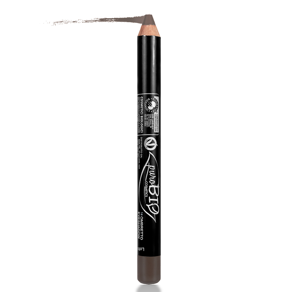 Laps sysh biologjik Eye Shadow BROWN King-Size Purobio 14