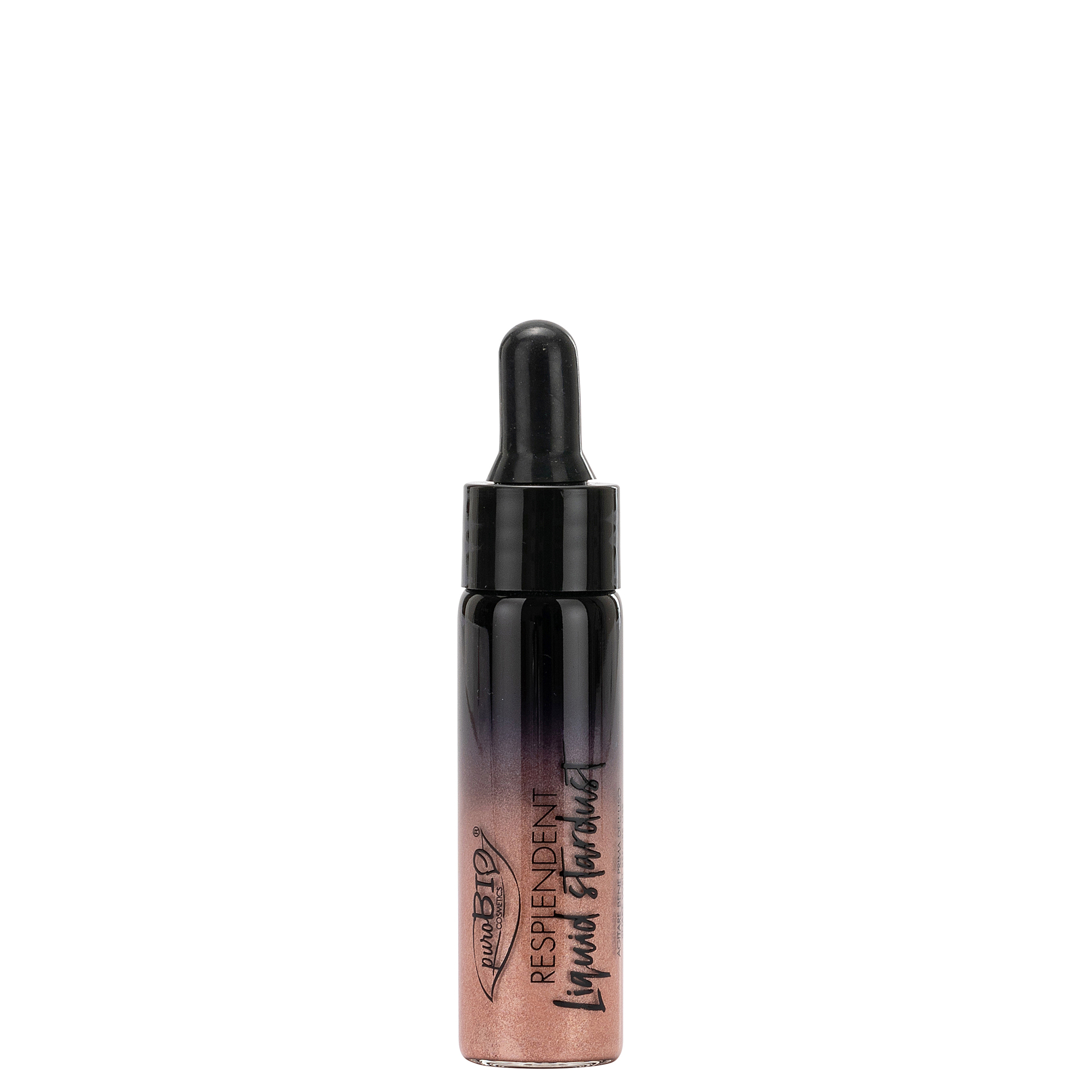 Highlighter i lengshem Resplendent Liquid Stardust ROSE GOLD 02