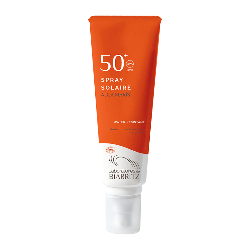 SPF 50+ Spray solar bio Alga Maris 125 ml